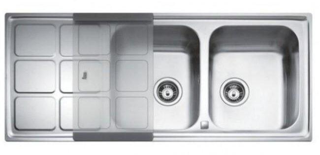 Полезные аксессуары для двойной мойки кухонной