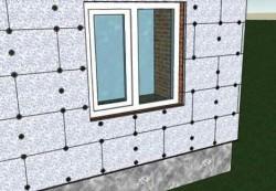 Расход материалов при утеплении фасадов