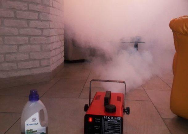 Генераторы сухого тумана для устранения запахов