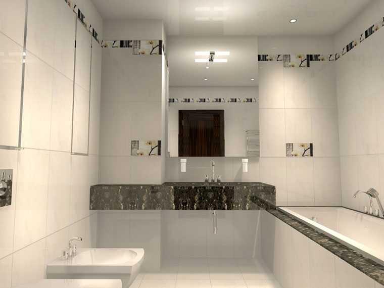 Интерьер ванная комната светильник моделирование ванной комнаты скачать