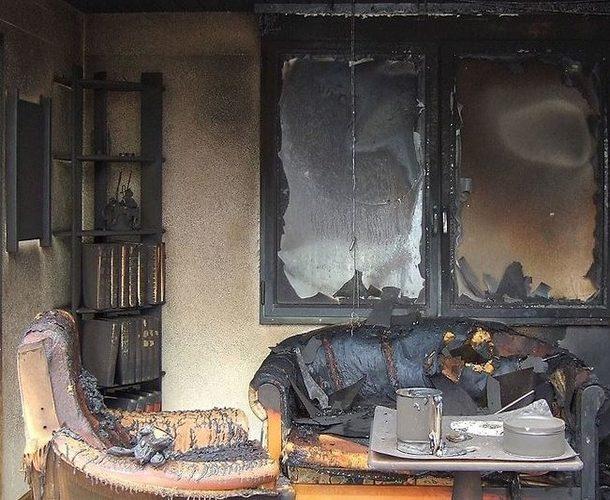 устранение последствий пожара
