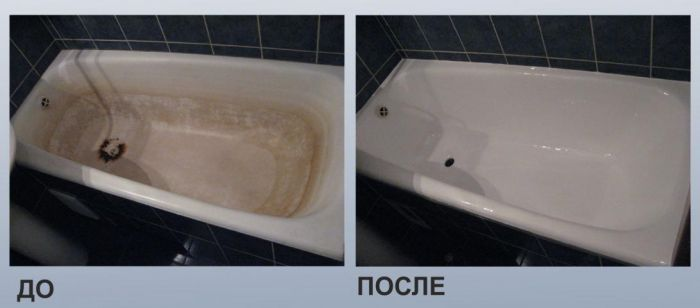 Реставрация старой ванны: мифы и реальность
