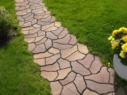 1формы для заливки садовых дорожек2