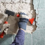 Демонтаж настенного и потолочного покрытия
