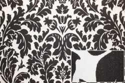 пример текстильных обоев