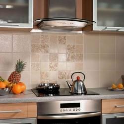 Керамическая плитка в кухне