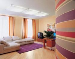 Пример покраски стен