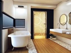 Дверь для ванной комнаты