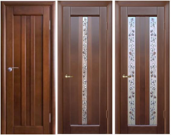 Межкомнатные двери - виды, характеристики, установка