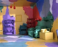 как ненужно красить стены