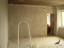 подготовка поверхности комната