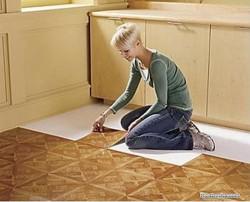 Самостоятельная укладка винилового напольного покрытия