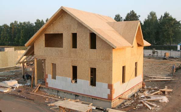 Каркасно-панельне дома из СИП-панелей (SIP): минусы и плюсы