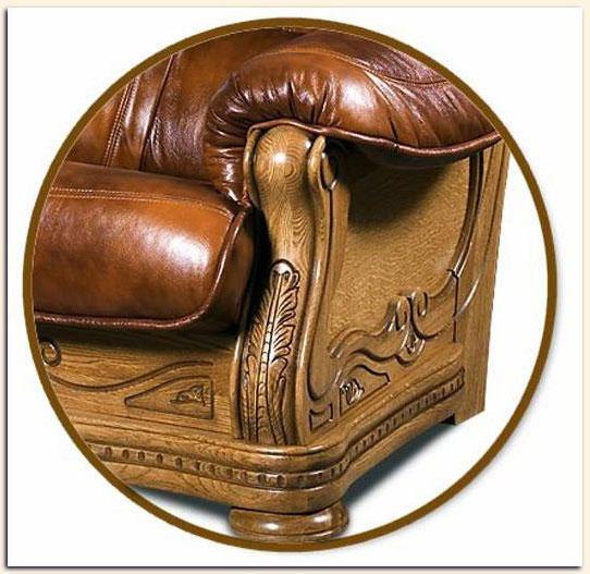 Как выбрать кожаный диван