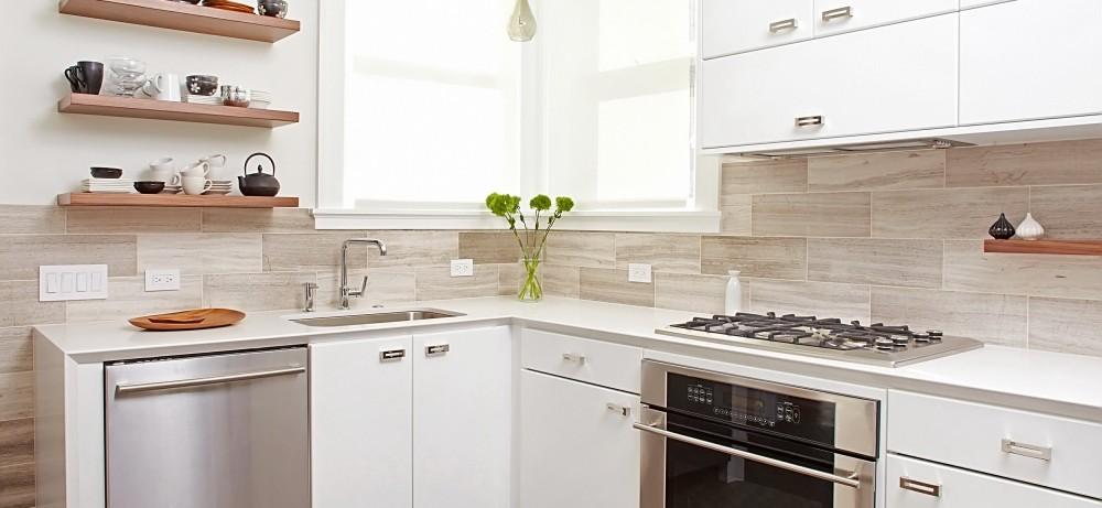 цветовая схема для маленькой кухни