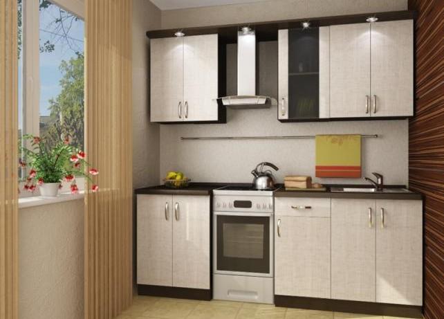 отделка маленькой кухни