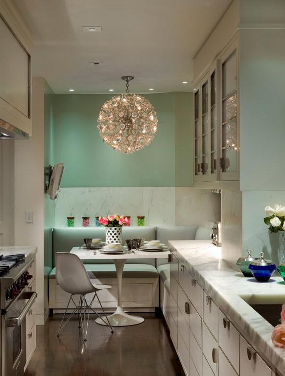 Дизайн маленькой кухни: 49 способов визуально увеличить пространство