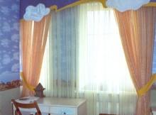 шторы в деткой комнате