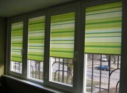 выбрать рулонные шторы