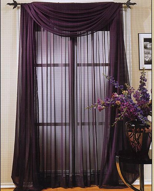 Выбор ткани для штор: тип, цвет, дизайн