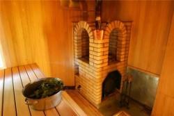 Кирпичная печь-каменка для бани