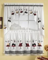 ткань для штор на кухне