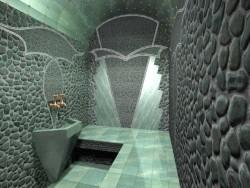 Отделка парной турецкой бани