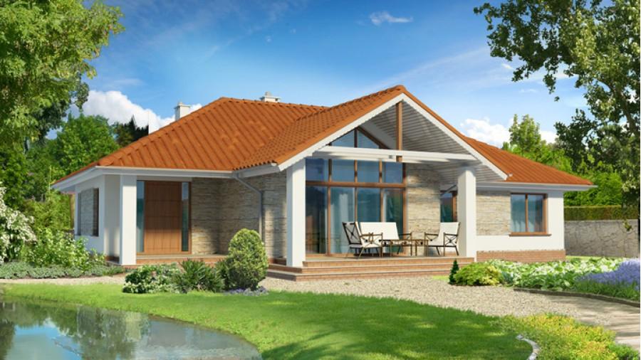85c5c198b233 Лучшие проекты одноэтажных домов и коттеджей   Строительный блог ...