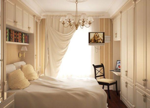 8 советов по дизайну маленькой спальни с фото