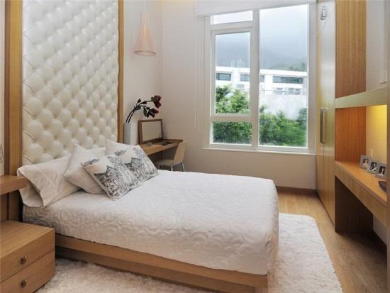 дизайн маленькой спальни изголовье