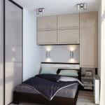 дизайн маленькой спальни мебель