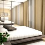 дизайн маленькой спальни мебель 4