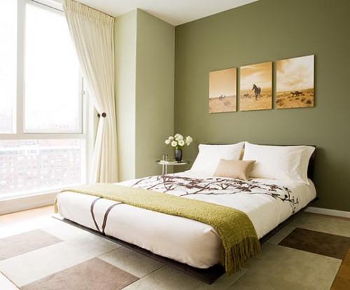 дизайн маленькой спальни минимализм