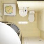 маленькая ванная комната душевая кабина 2