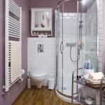 маленькая ванная комната душевая кабина 3