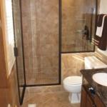 маленькая ванная комната душевая кабина 5