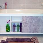 маленкая ванная комната места хранения 2