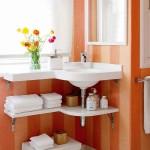 маленькая ванная комната месте хранения 3