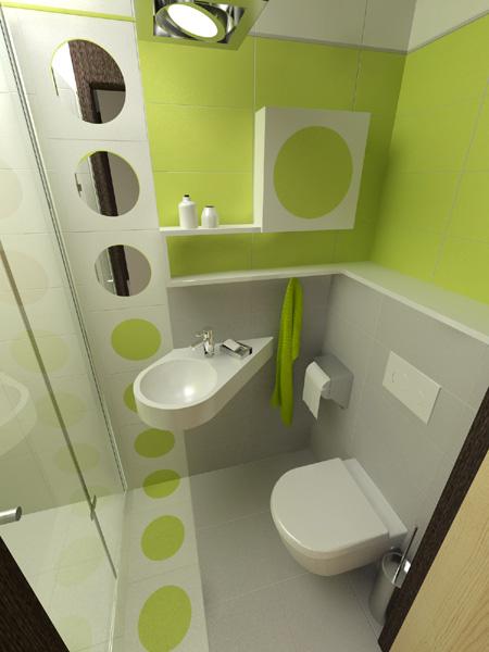 маленькая ванная комната минимализм 2