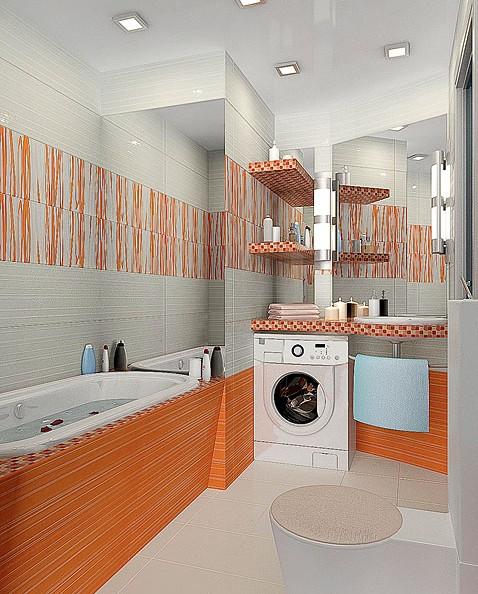 Дизайн ванной комнаты варианты