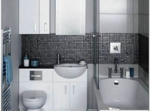 маленькая ванная комната отделка