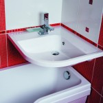 маленькая ванная комната подвесная сантехника