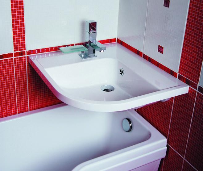 умывальник для маленькой ванны