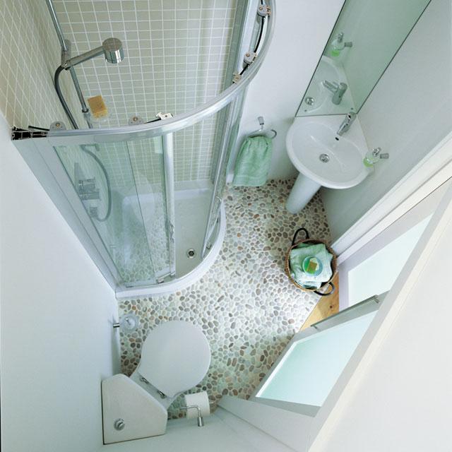 маленькая ванная комната углы 2