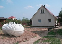 septic tank for giving volume