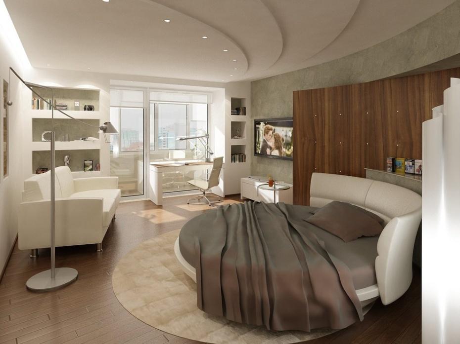 дизайн маленьких квартир освещение 2