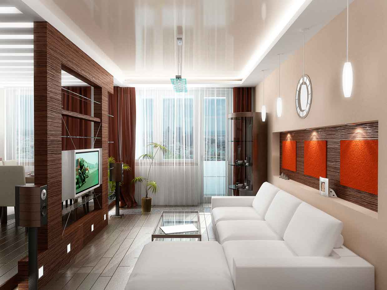 дизайн маленьких квартир освещение