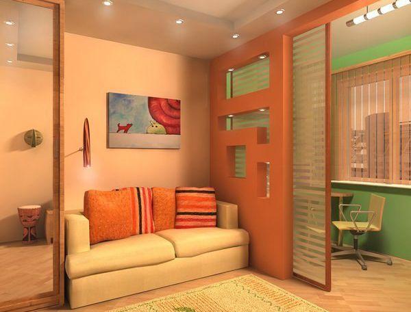 дизайн маленьких квартир отделка 2