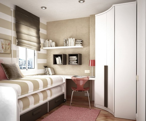 дизайн маленьких квартир шторы