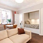 дизайн маленьких квартир цвет 3